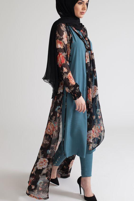 Très Styles de Hijab moderne et Fashion : Venez Voir Les Meilleurs  AW39