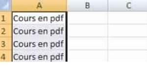 Astuce Excel