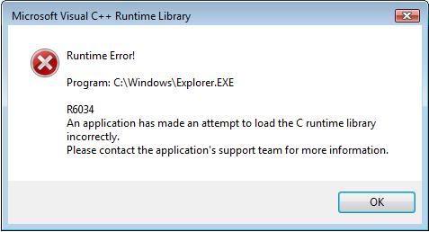 runtime-error-r6034