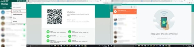 Utiliser WhatsApp avec un navigateur web