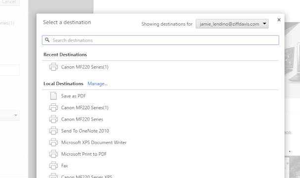 Imprimer en PDF dans Windows 10