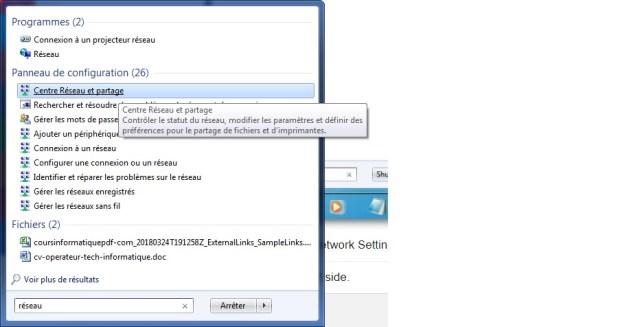 Changer IP dans Windows