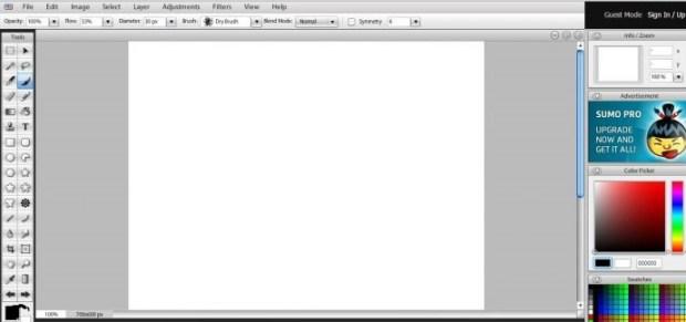 Sumopaint - Comment modifier vos photos sur PC sans aucun logiciel