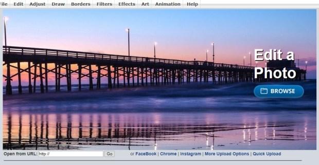 Lunapic - Comment modifier vos photos sur PC sans aucun logiciel