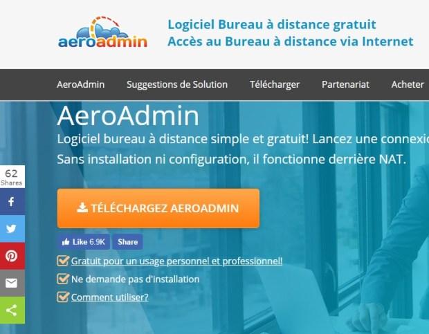 Aero admin