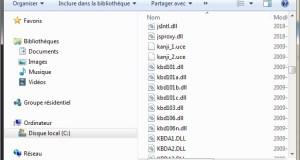 fichier système Windows