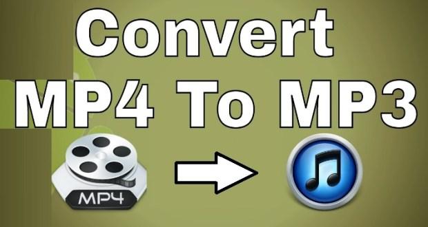 Comment convertir MP4 en MP3