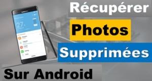 Récupérer des photos supprimés sur Android