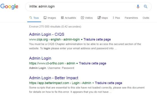 google-dorks-admin-login