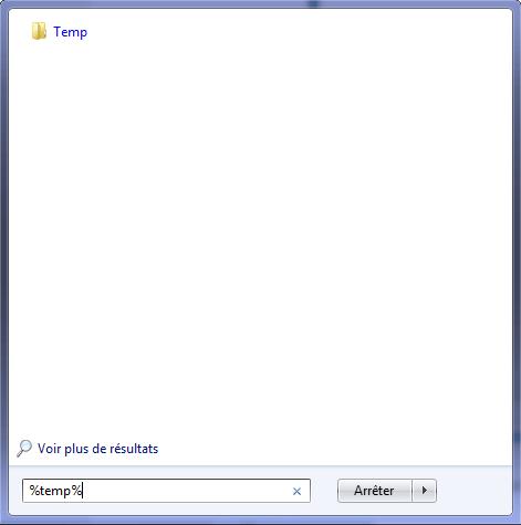 Accélérer votre ordinateur fichiers temporaire