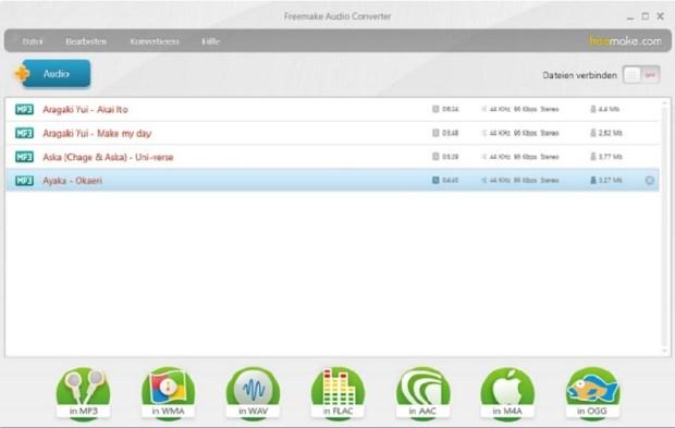 Fusionner fichier audio - ajouter piste