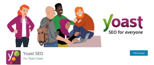 Meilleurs plugins - Yoast SEO