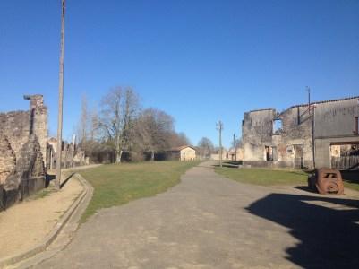 """The town """"square"""": the Place du champ de foire."""