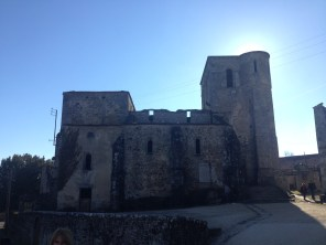 The old Eglise Saint-Martin.