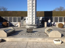 In the years following the massacre, a bitter fight erupted over the pardon of French conscripts in the SS who participated in the massacre. As a result, the locals refused the national monument; the victims instead lie here, a hundred meters away, in a separate memorial.