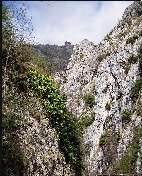 Desfiladero de los Beyos en Asturias