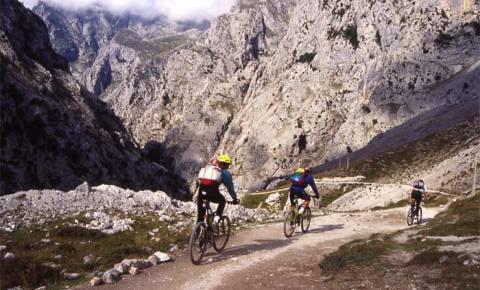 Ruta del Cares en Bici