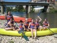 Bajar el Sella en canoa es una fiesta