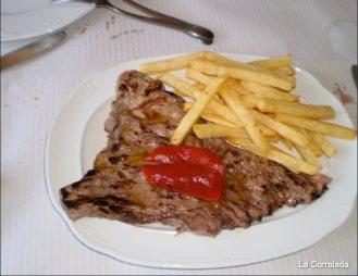 Donde comer: filete con patatas