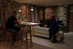 CENA Y CHIMENEA en Casa rural con jacuzzi