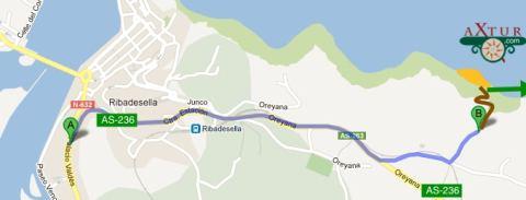 Ruta de los Acantilados de Ribadesella.