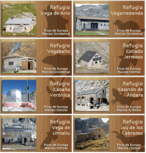 Red de Refugios en los Picos de Europa