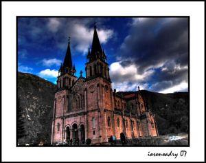 basilica de covadonga iosonoadry