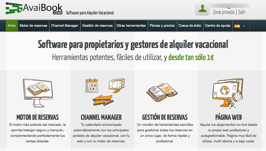 Comparativa Avaibook y Ruralgest