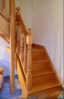 Escalera de la casa rural