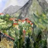 Acuarela Cazo