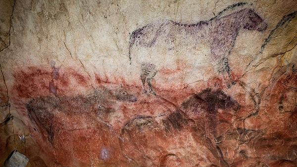 Arte rupestre Asturias cueva del tito bustillo