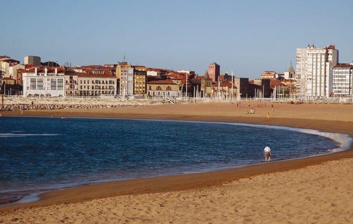 as mejores playas de gijon