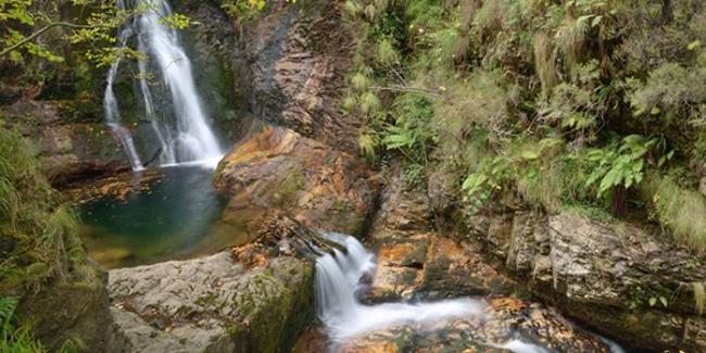ruta del alba cascadas