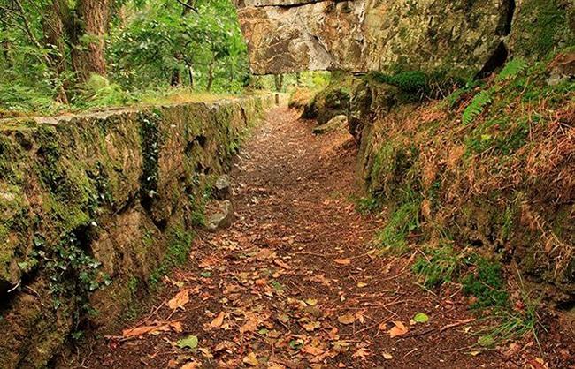 ruta por las cascadas de oneta el camino