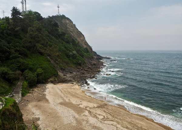 playa de la atalaya en ribadesella