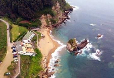 playas cerca de langreo