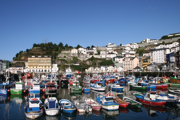 el puerto de luarca asturias