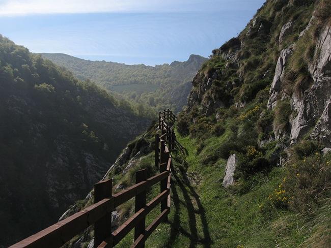 senda del arcediano en asturias las vistas