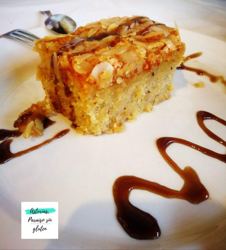 Llagar el Quesu, tarta de almendras