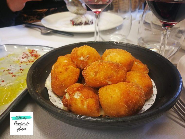 Croquetas Restaurante Blanco
