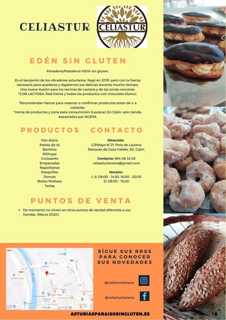 Guía de obradores sin gluten asturianos - Celiastur