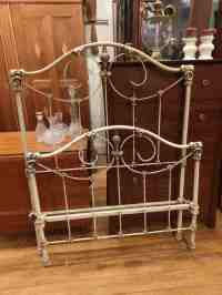 Antique Iron And Brass Twin Bed Astute Furnishings