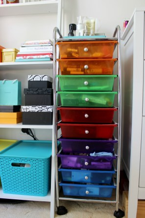room decor home style makeup storage