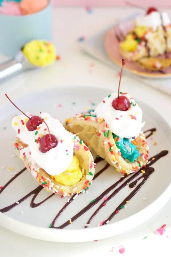 Ice Cream Sundae Tacos A Subtle Revelry