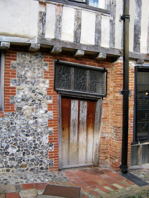 Crooked door