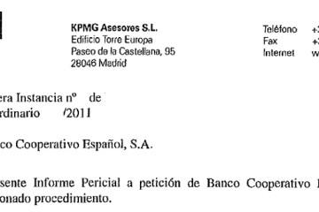 KPMG Asesores Informe BCooperativo
