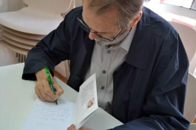 Andreu Missé dedica el libro a Patricia Suárez