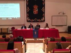 De izq. a Derecha: Oscar Molinuevo, Jesús Ángel Saiz Redondo, Patricia Suárez y Eva Sancho