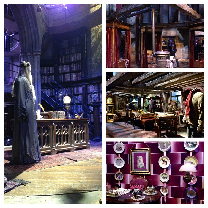 harry potter studio interior sets