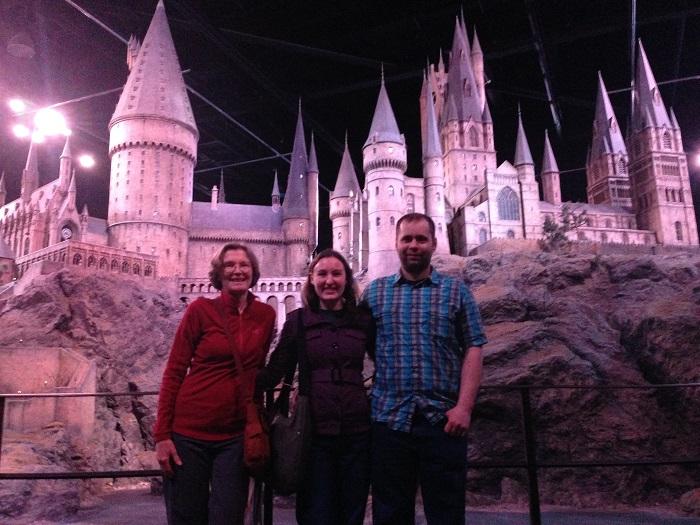 harry potter studio Hogwarts Castle
